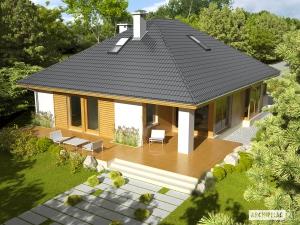 Дом с вальмовой крышей-3