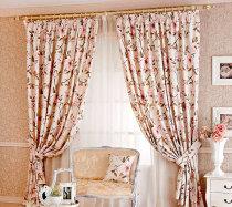 Кантри — оригинальные шторы в гостиную