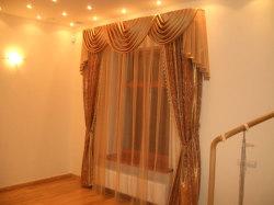 Класика - легкие шторы в гостиную