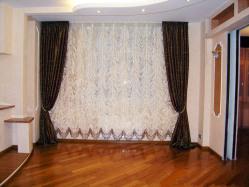 Красивые французские и австрийские шторы для гостиной