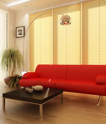 Красивые шторы плиссе и жалюзи для гостиной