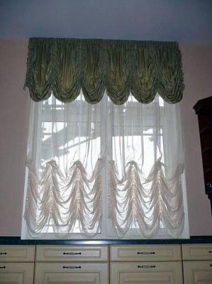 Оригинальные французские и австрийские шторы для гостиной