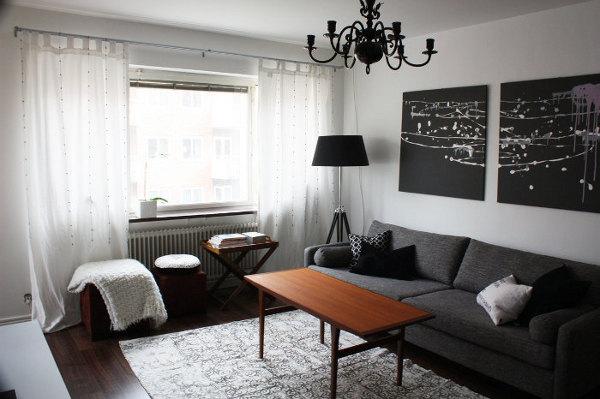 Дизайн зала в квартире — 1 фото необычных и