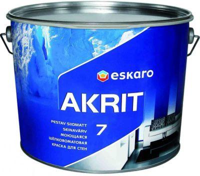 Краска моющаяся Eskaro