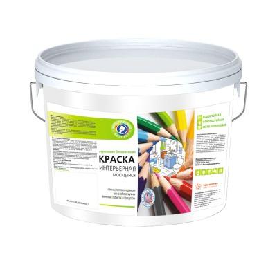 Краска моющаяся Kolorit