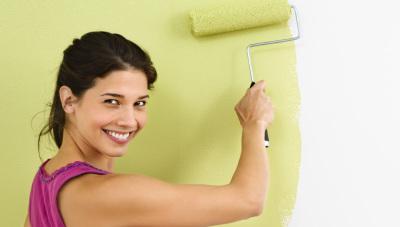 Краска моющаяся для стен акриловая