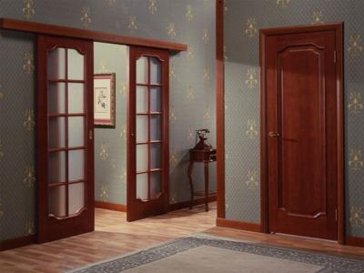 Межкомнтатные и развижные двери