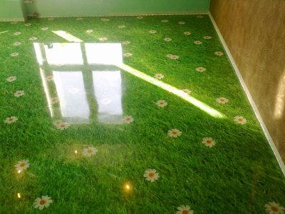 Наливные полы 3d в квартире