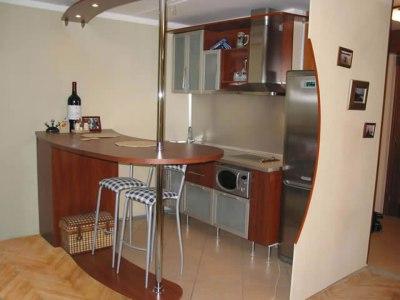 Высота барной стойки для кухни