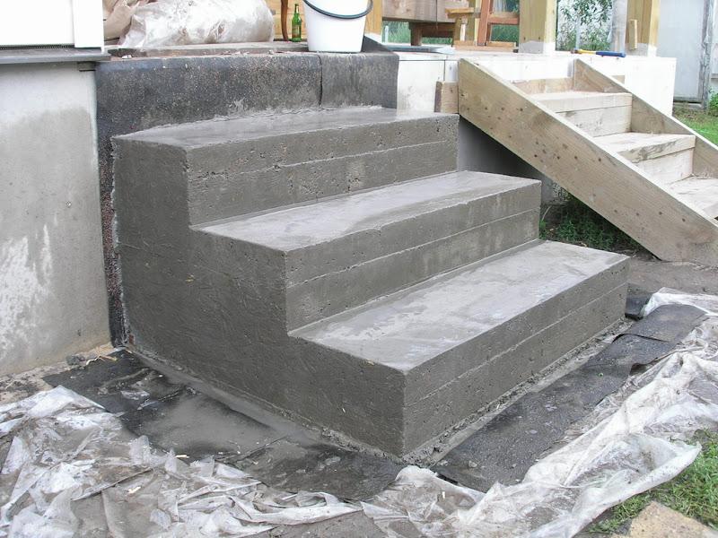 Крыльцо из бетона своими руками фото - Как Правильно Сделать