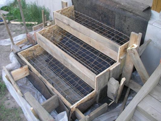 Как построить ступеньки к крыльцу из бетона