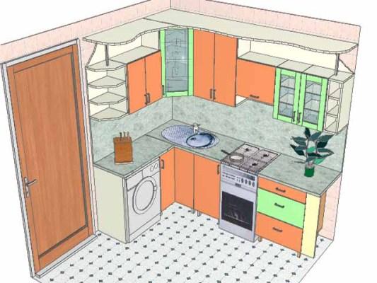 Планировка кухни своими рукам