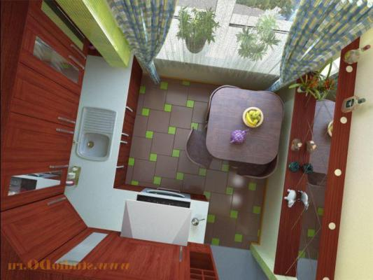 Ремонт кухни 6 кв. м. фото, как сделать