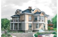 Проекты домов и коттеджей из кирпича и пеноблоков