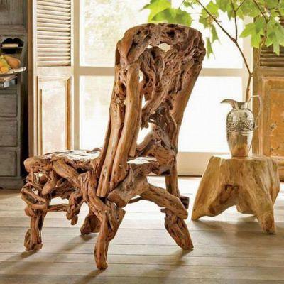 Мебель из дерева ручной работы
