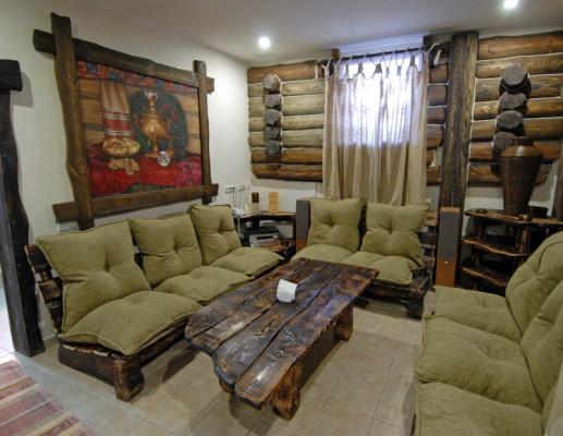 Состаренная мебель из дерева фото