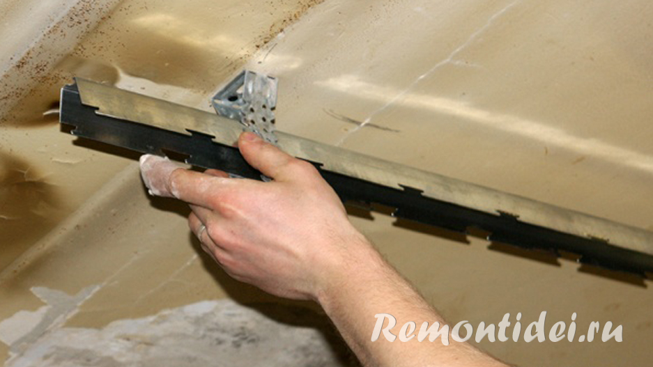 Монтаж подвесных потолков своими руками видео фото