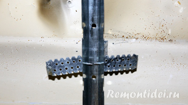 Как сделать реечный потолок в ванной видео фото 46