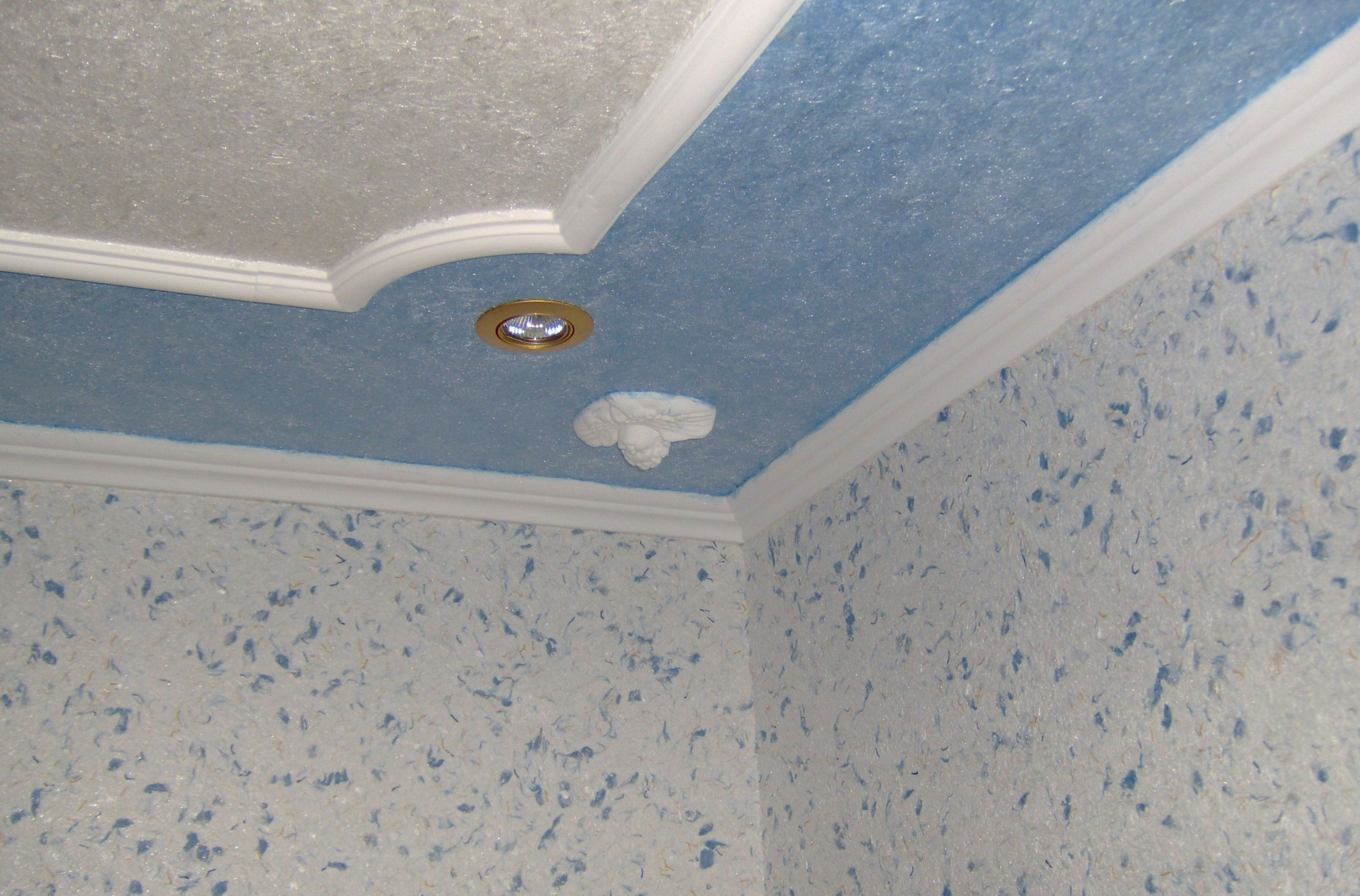 Отделка потолка своими руками фото