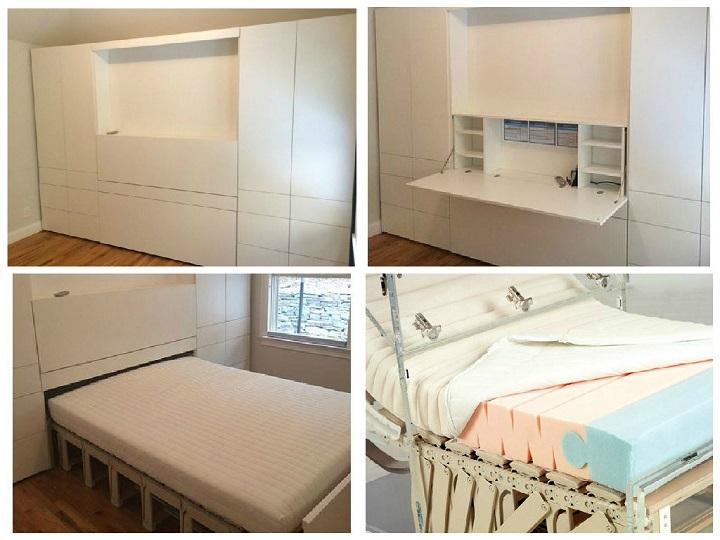 шкаф кровать диван трансформер откидная кровать убирающаяся в шкаф