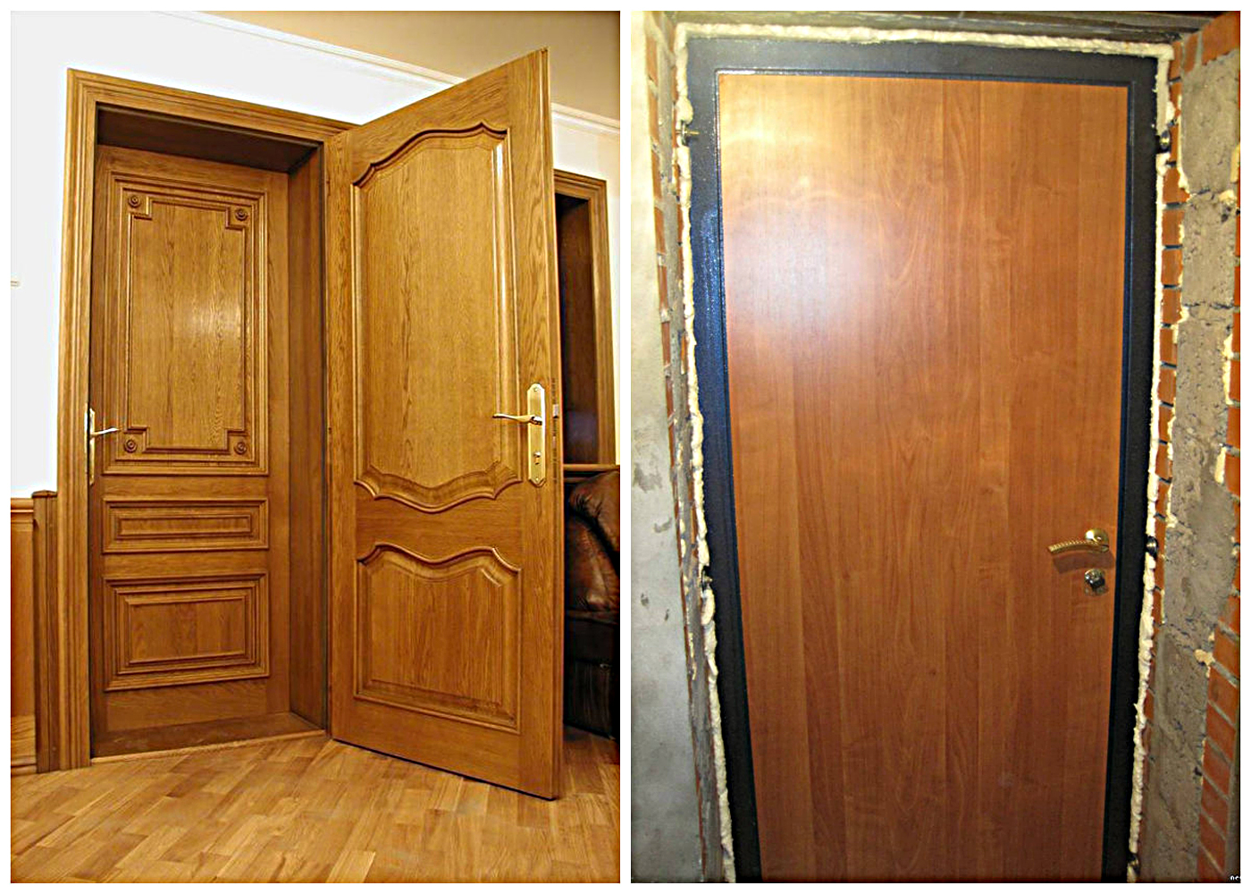 для изготовления входные деревянные двери в квартиру с установкой недорого справа вверху