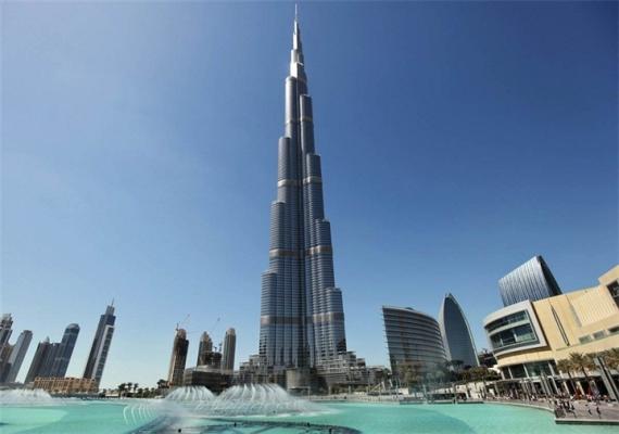 самое высокое здание в мире в дубае