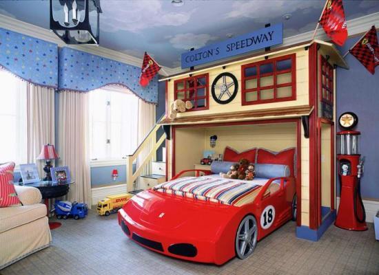 дизайн и интерьер детской комнаты для мальчика фото
