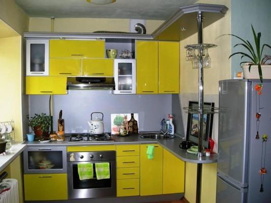Дизайн маленькой кухни 6 кв м в хрущевке - дизайн-интерьер ...: http://remontidei.ru/dizajn-malenkoj-kuxni-6-kv-m-v-xrushhevke-dizajn-interer-foto.html