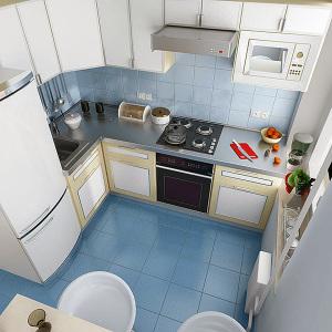 дизайн кухни 6 кв м фото