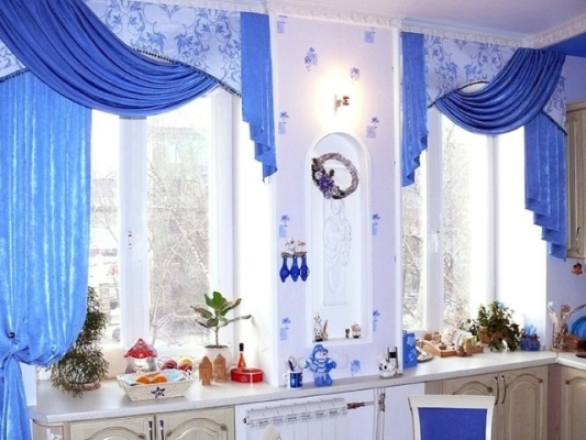 занавески на кухню