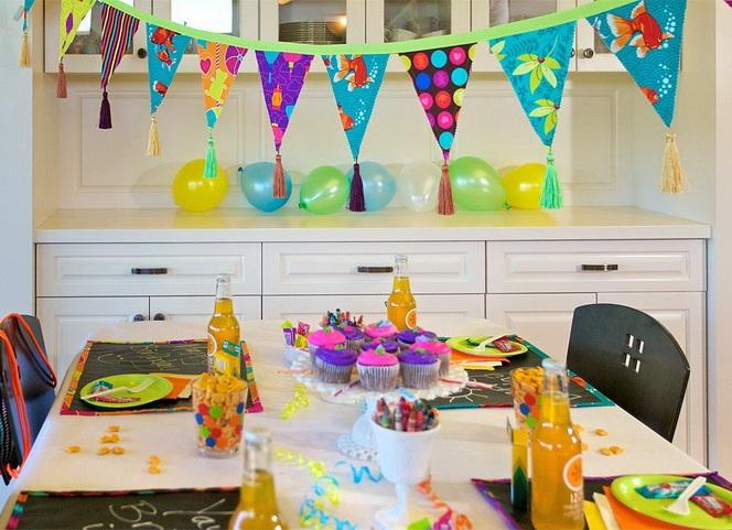 Как сделать ребенку домашний день рождения 722