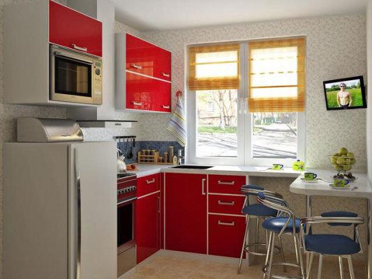 кухни 5 кв м дизайн фото