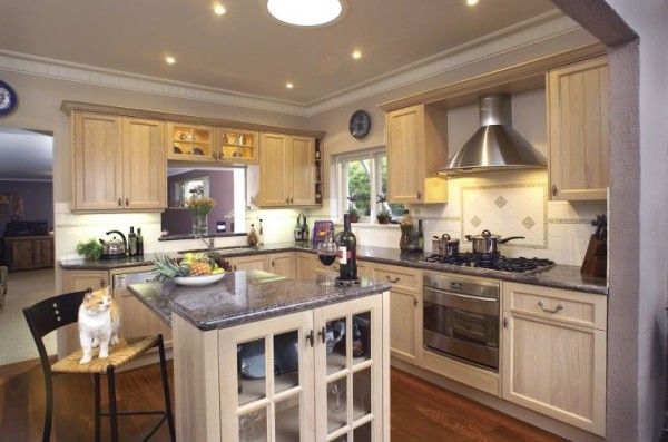 кухня студия 16 кв м дизайн фото