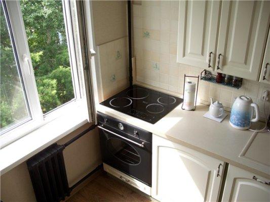 Дизайн кухни 8.4 кв м