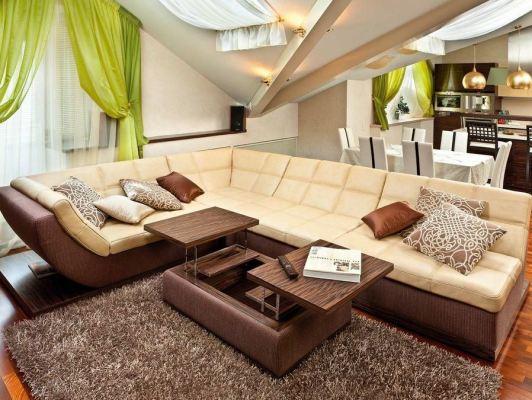 модульная мягкая мебель для гостиной