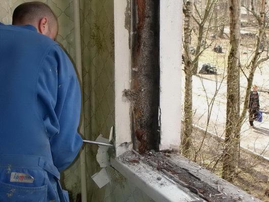 подготовка проема к установке окна