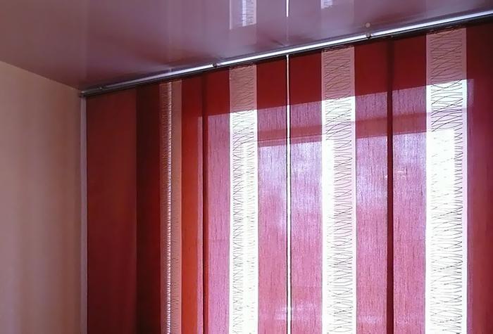 Японские шторы сделать своими руками