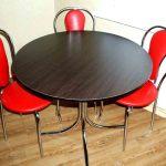 стулья с низкой спинкой на кухню