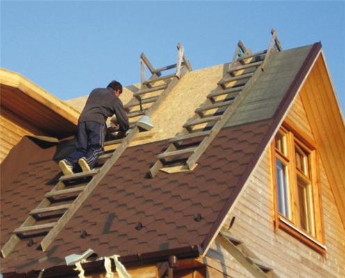 как сделать крышу дома своими руками видео