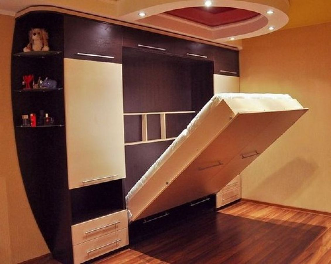 Кровати встраиваемые в шкаф своими руками видео