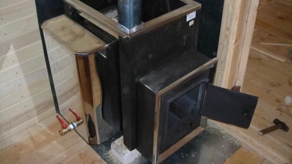 Печь для бани из трубы своими руками фото 865