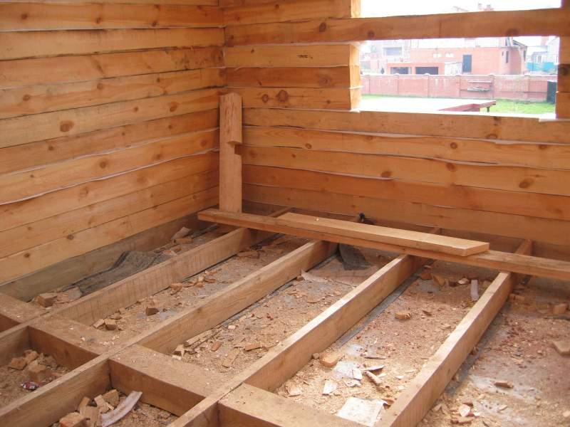 Работы в деревянном доме своими руками 894