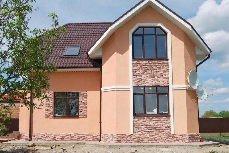 Отделка фасада дома сайдинг цена