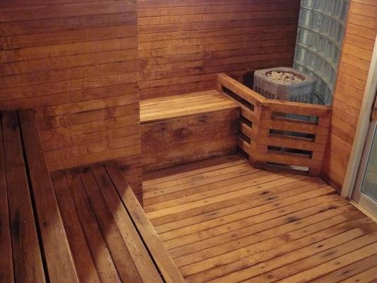 теплые полы в бане своими руками