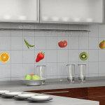 фартук на кухню из плитки фото дизайн