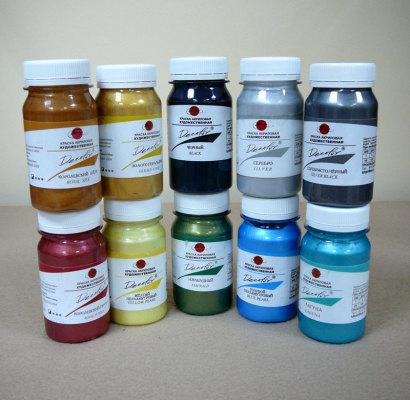 акриловые краски для росписи стен