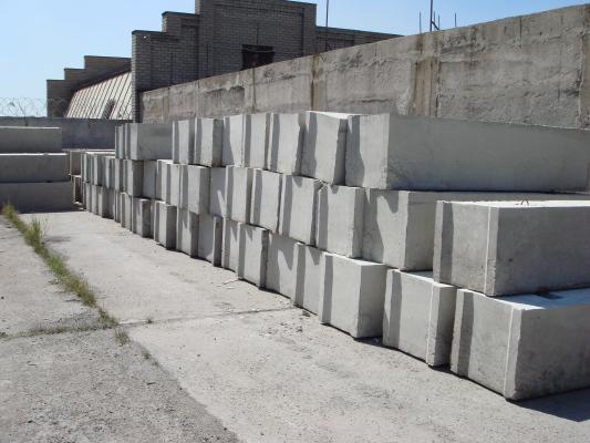 блоки для фундамента