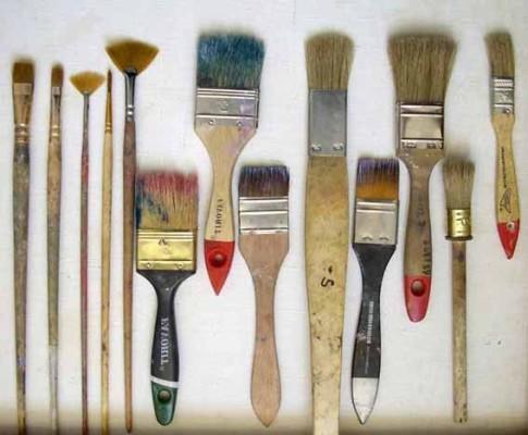 кисти для росписи стен