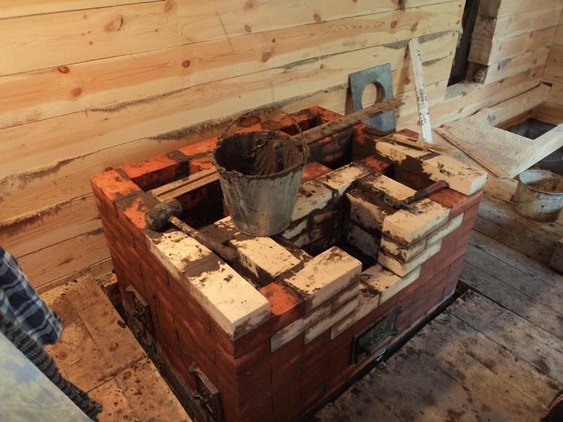 Как построить печку из кирпича своими руками фото 64