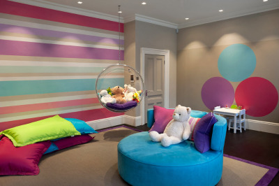 детская комната для девочки в стиле минимализм